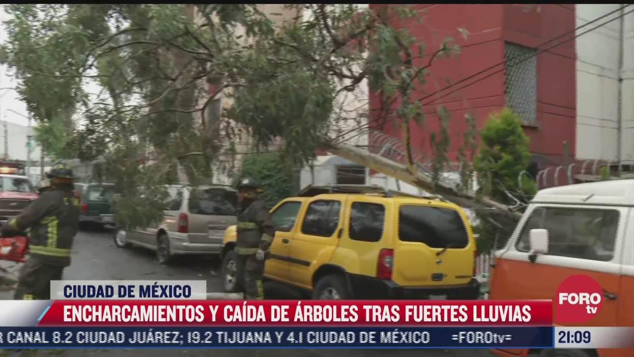 asi se vivieron las lluvias y los encharcamientos del martes en la ciudad de mexico