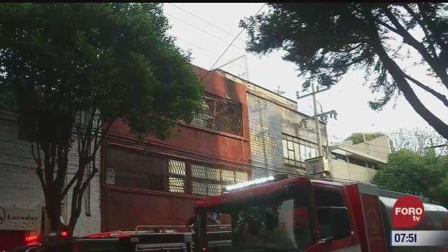 bomberos controlan incendio en bodega de cdmx