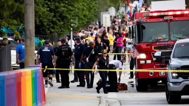 Camión atropella a asistentes de la Marcha del Orgullo Gay en Florida; hay un muerto