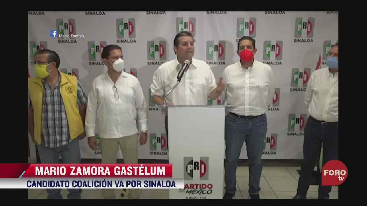 candidatos a la gubernatura de sinaloa se proclaman ganadores