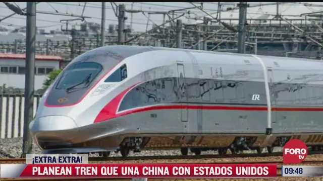 china planea construir tren que llegue a eeuu
