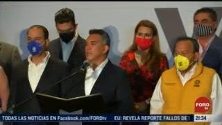 coalicion va por mexico habla sobre resultados obtenidos y sus proyectos
