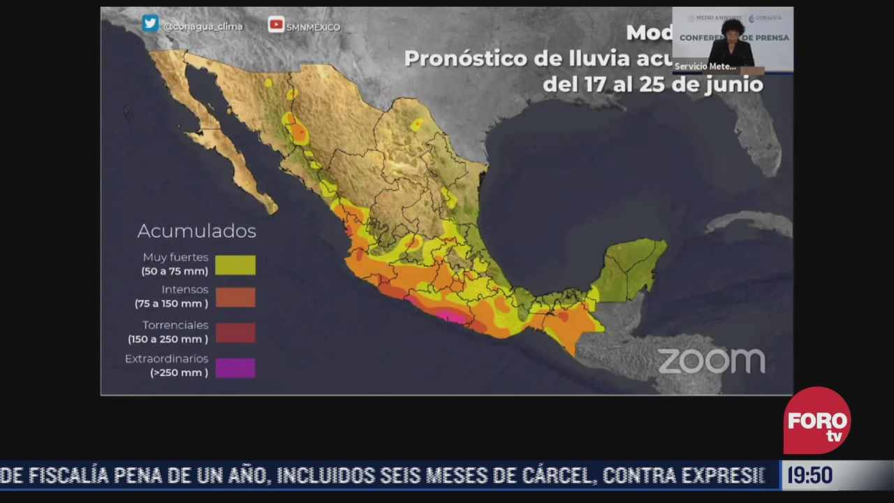 conagua preve lluvias fuertes por potencial ciclon tropical tres
