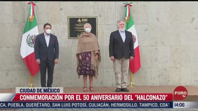 conmemoran 50 anos de el halconazo en cdmx