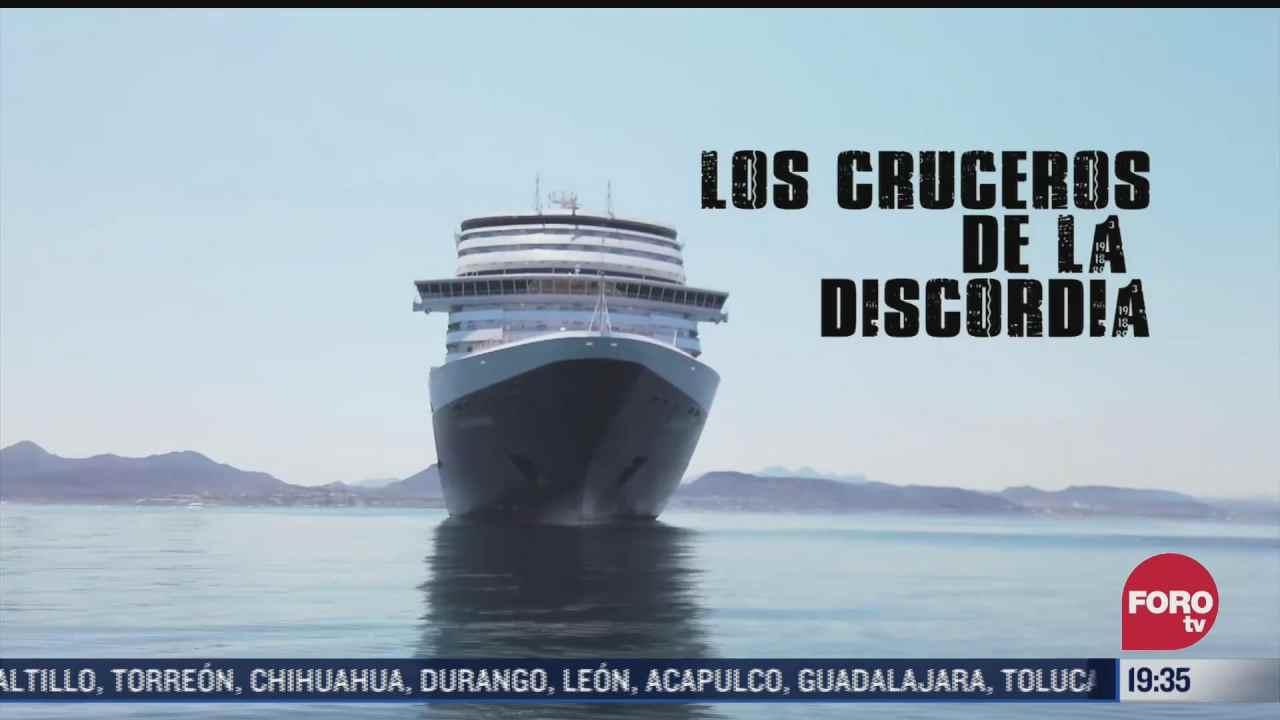 contaminacion de cruceros en mexico
