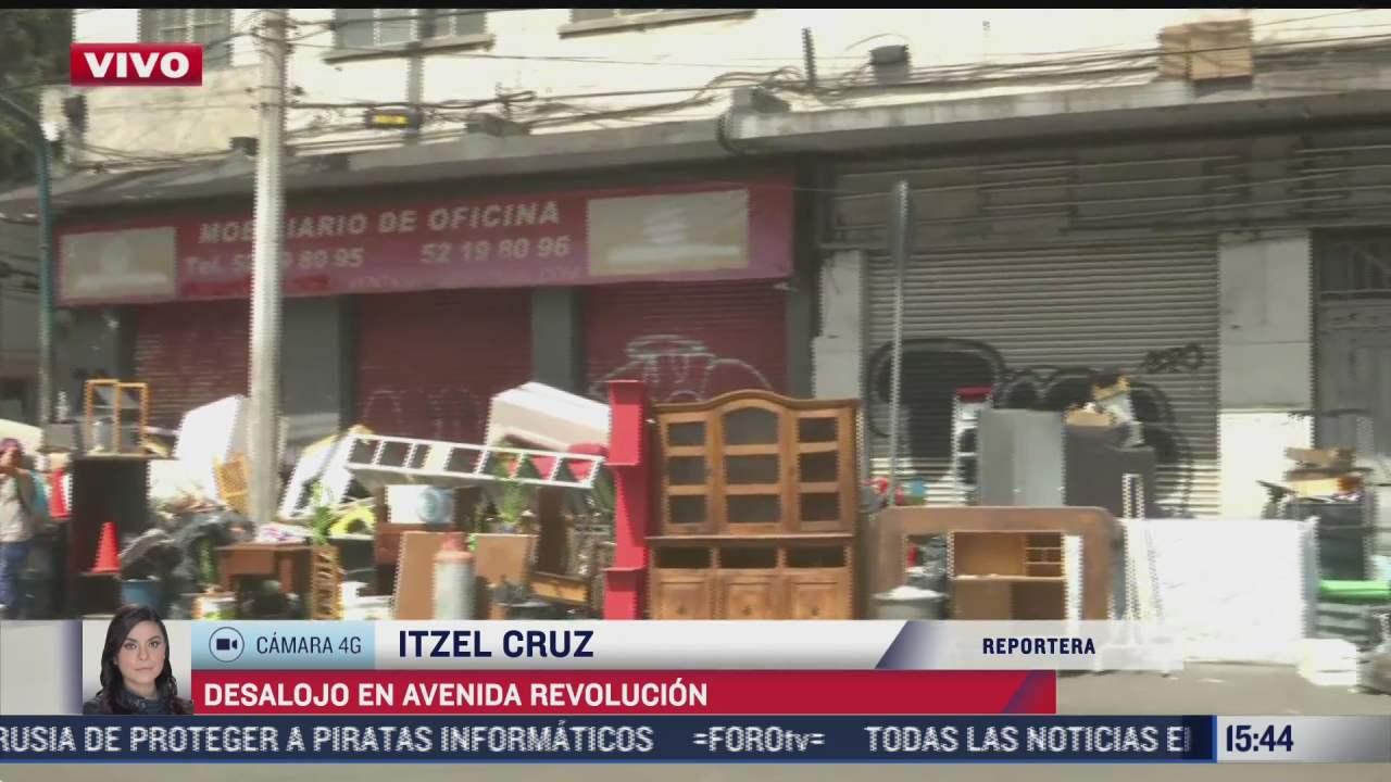 desalojan a seis familias en domicilio de la av revolucion