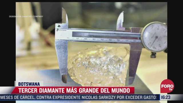 descubren uno de los diamantes mas grandes del mundo en botswana
