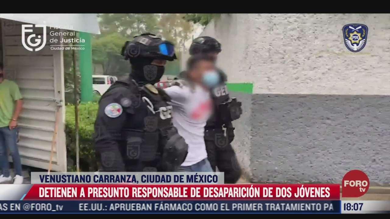 detienen al porfirio relacionado con la desaparicion de dos jovenes en azcapotzalco