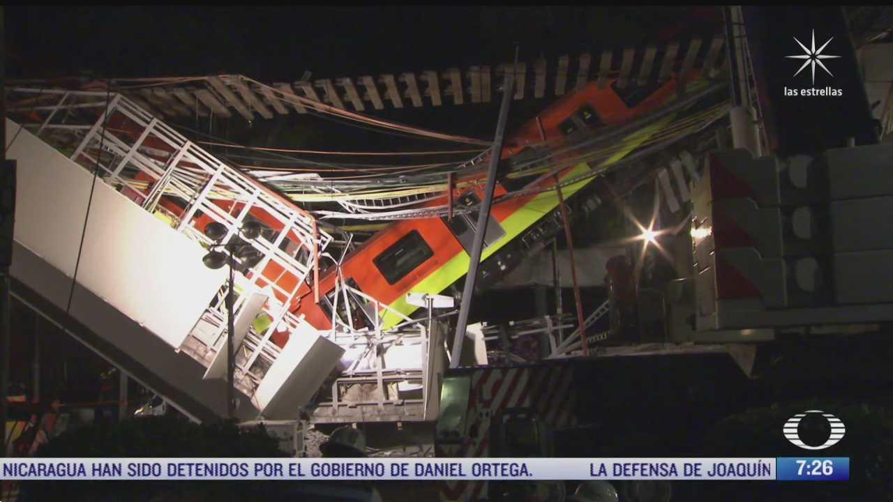 enrique horcasitas se deslinda de accidente en la linea 12 del metro