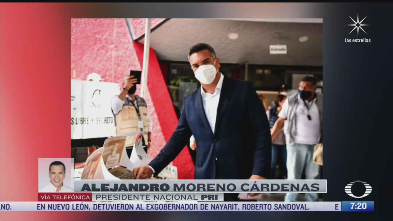 entrevista con alejandro moreno presidente nacional del pri para despierta