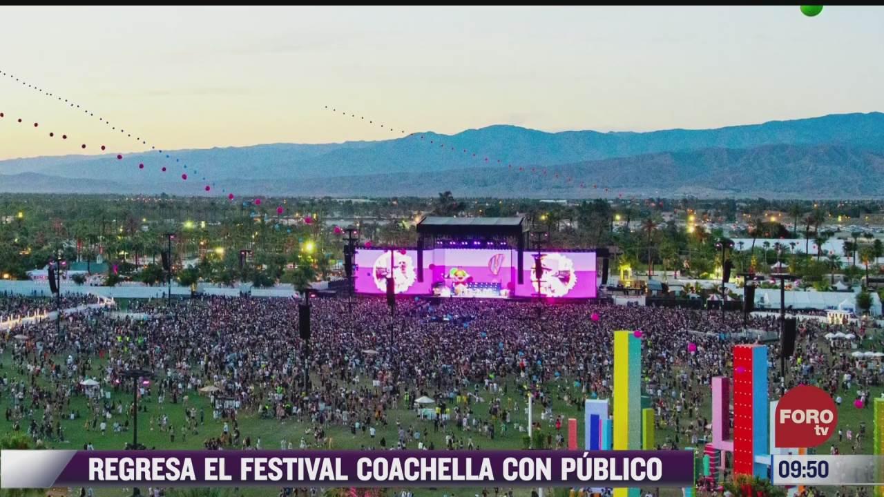 espectaculosenexpreso regresa festival coachella con publico