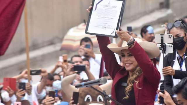 Entregan constancias de mayoría a gobernadores electos en México