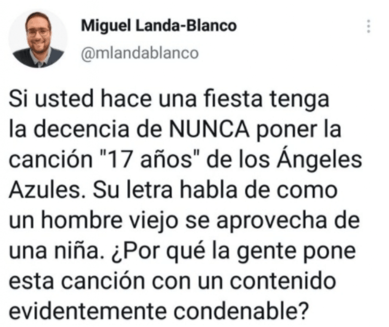 Piden cancelar a Los Ángeles Azules por canción '17 Años'