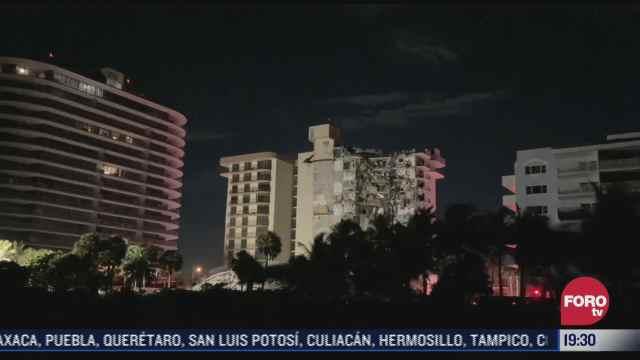 florida declara estado de emergencia por derrumbe de edificio