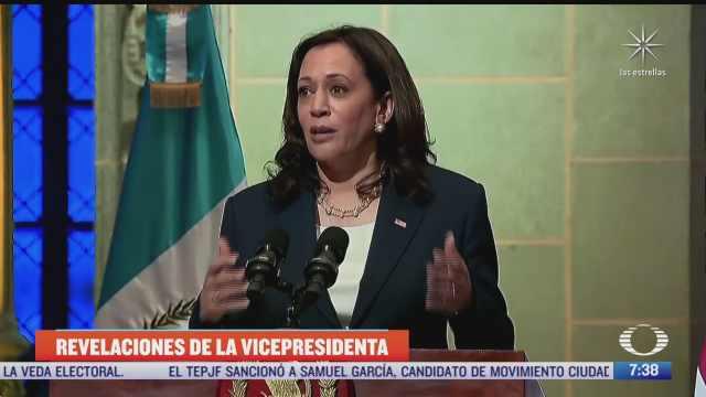 harris aclara que declaraciones sobre ongs solo fueron sobre guatemala