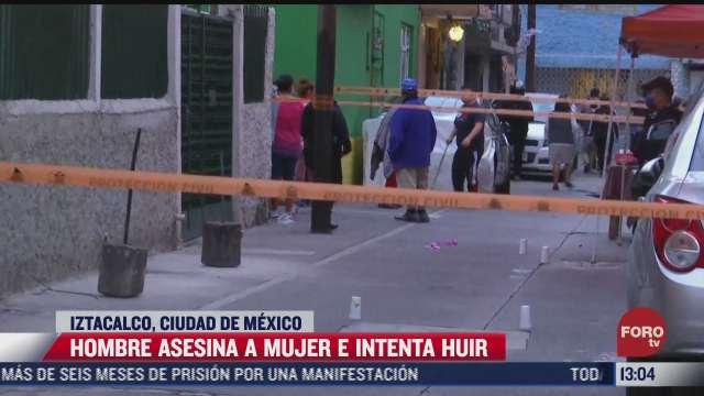 hombre asesina a mujer e intenta huir en iztacalco cdmx