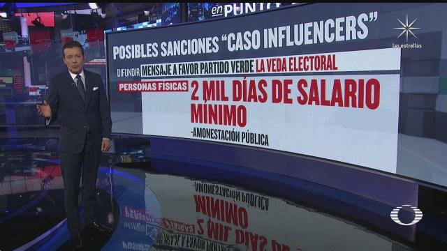 ine detalla poseles sanciones contra influencers por violar veda electoral