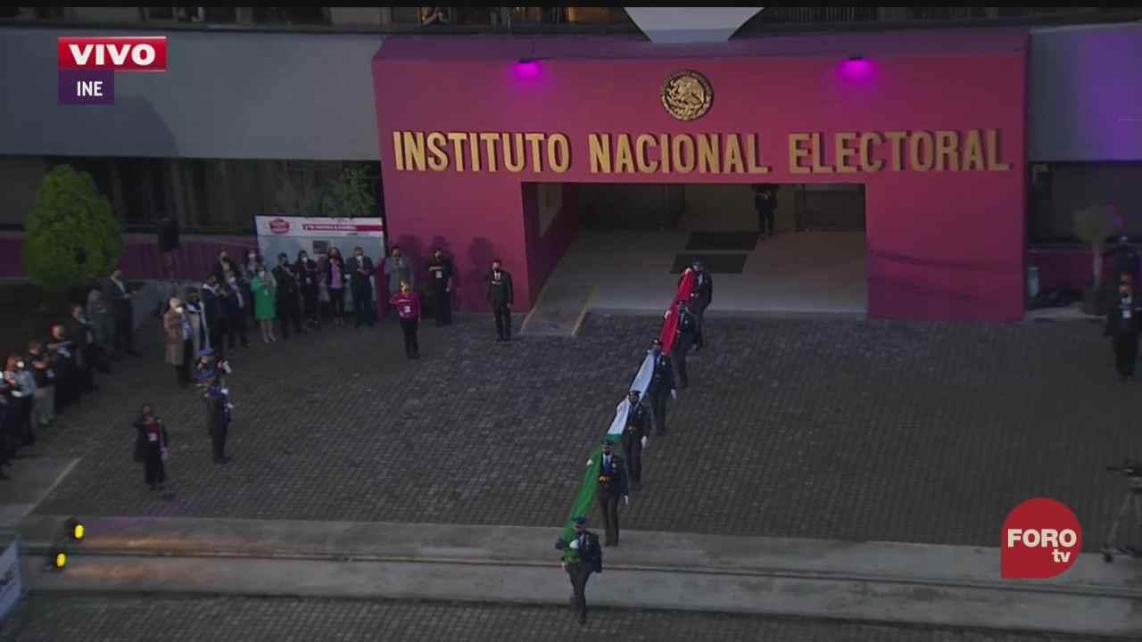 ine realiza ceremonia de inauguracion por elecciones en mexico