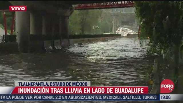 intensas lluvias provocan inundaciones y caida de granizo en tlalnepantla