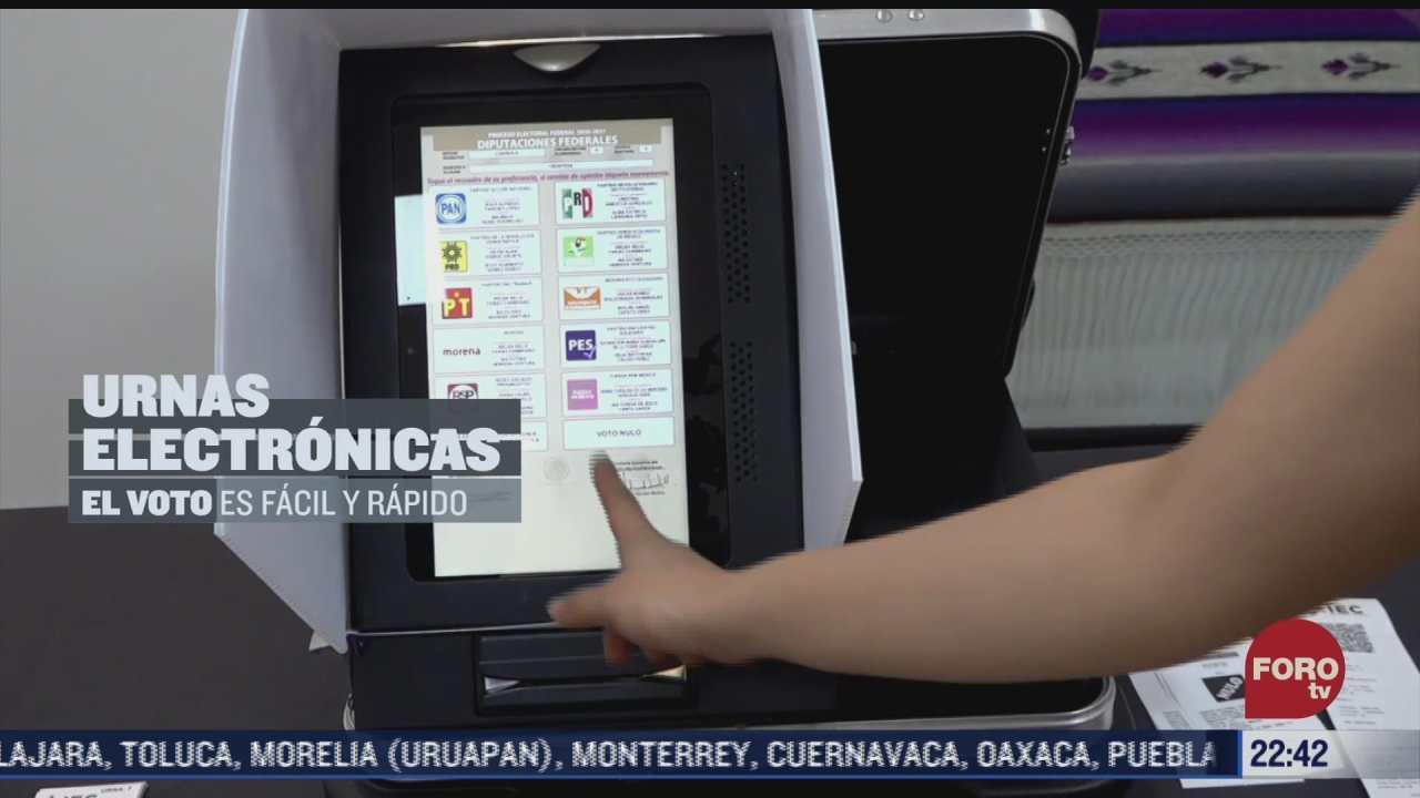 jalisco y coahuila contaran con urnas electronicas