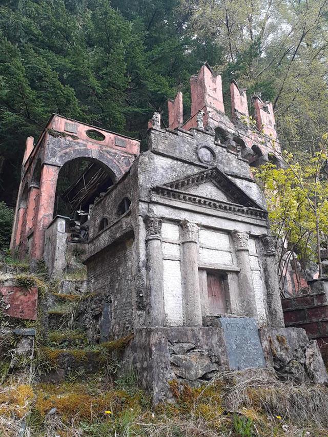 Jardín secreto de Gales recrea a Italia a escala
