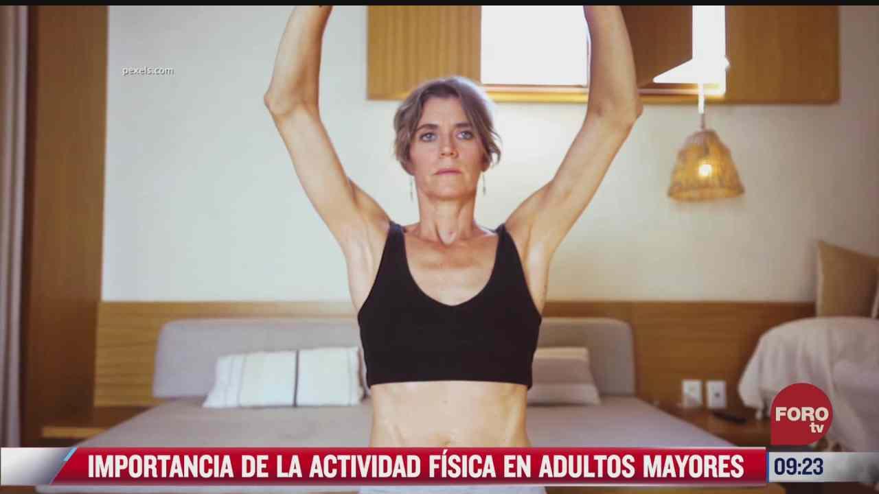 la importancia de la actividad fisica en adultos mayores