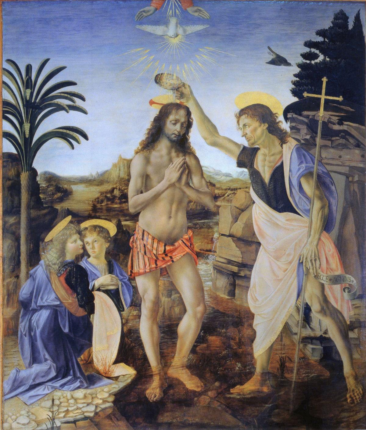 San Juan Bautista, Leonardo DaVinci, Religión, Biblia, arte