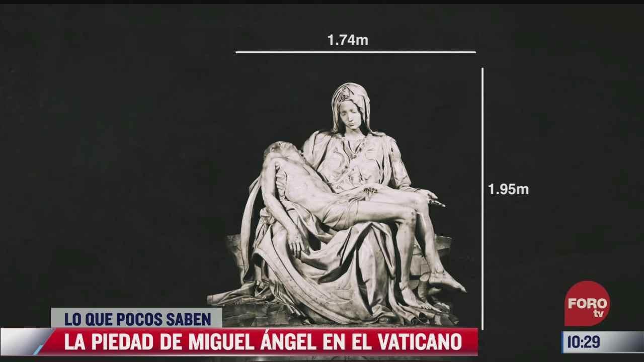 loquepocossaben la piedad de miguel angel en el vaticano