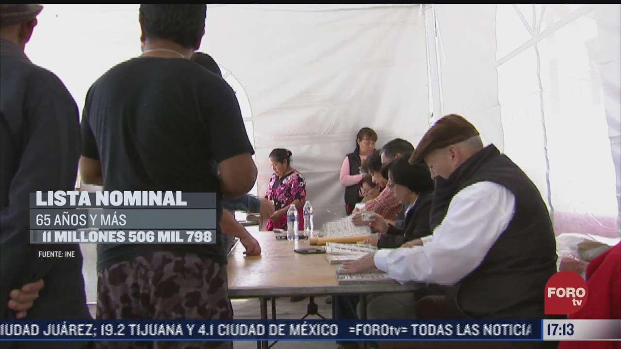 mas de 93 millones de mexicanos conforman el padron electoral