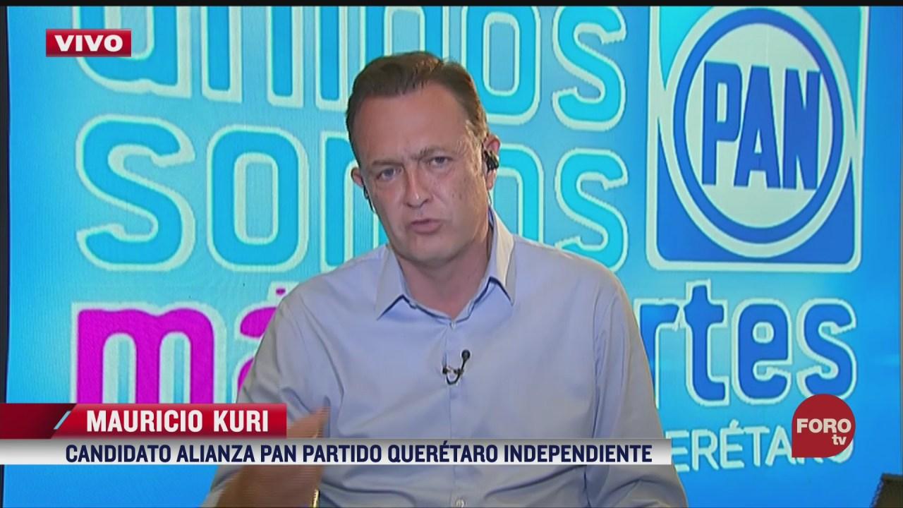mauricio kuri pide unidad en queretaro a demas candidatos