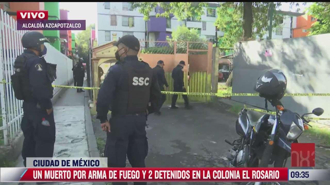 muere un hombre baleado en la alcaldia azcapotzalco cdmx