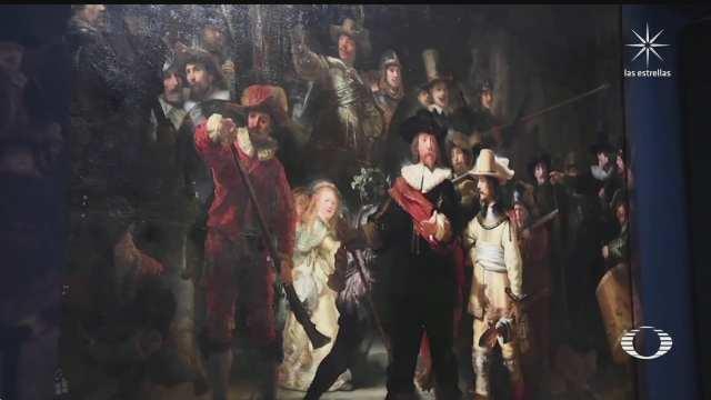museo holandes restaura obra de rembrandt