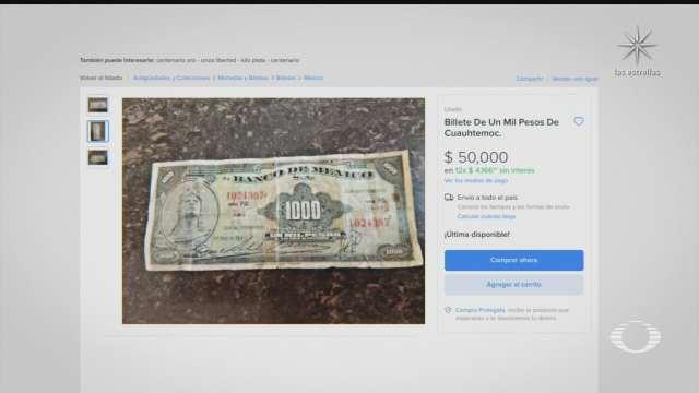 nueva modalidad de fraude con monedas y billetes del siglo pasado