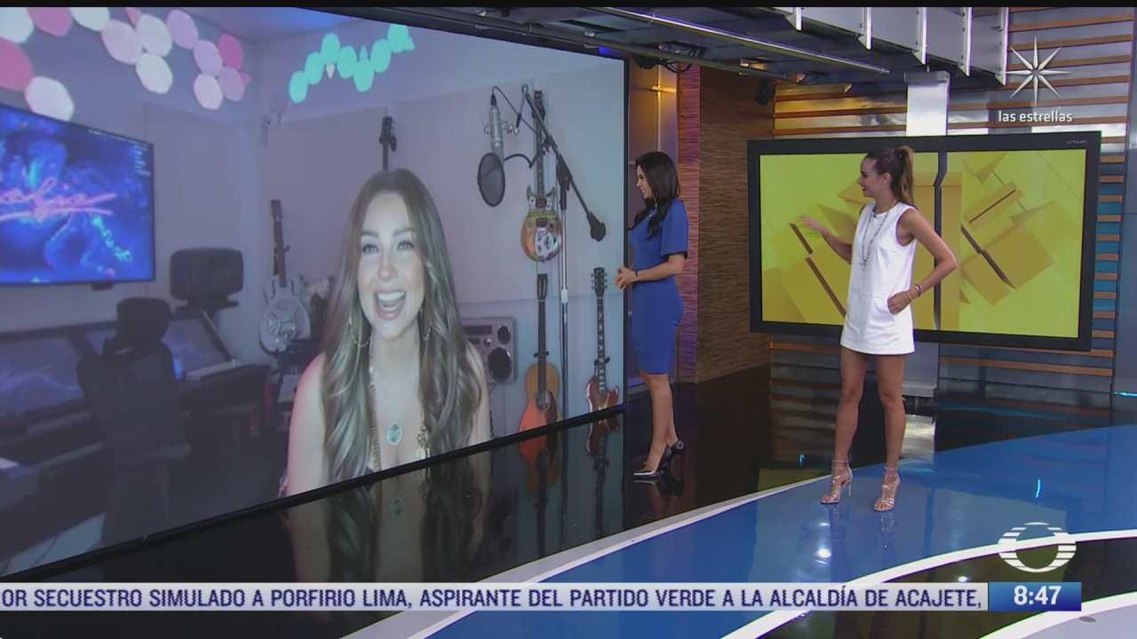 paola rojas entrevista a thalia sobre su nuevo disco desamorfosis
