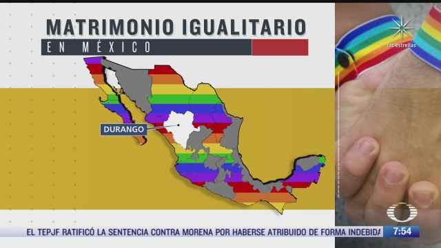que estados no han aprobado el matrimonio igualitario en mexico