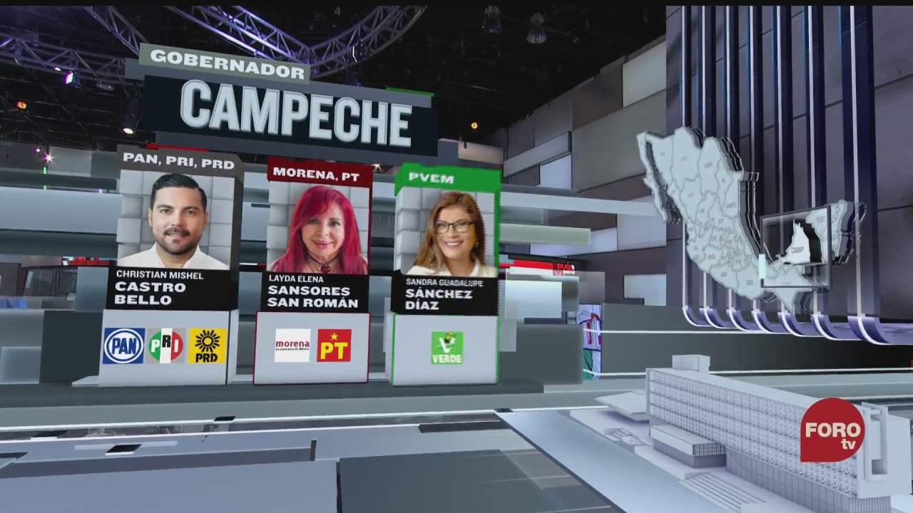 quienes son los candidatos a la gubernatura de campeche