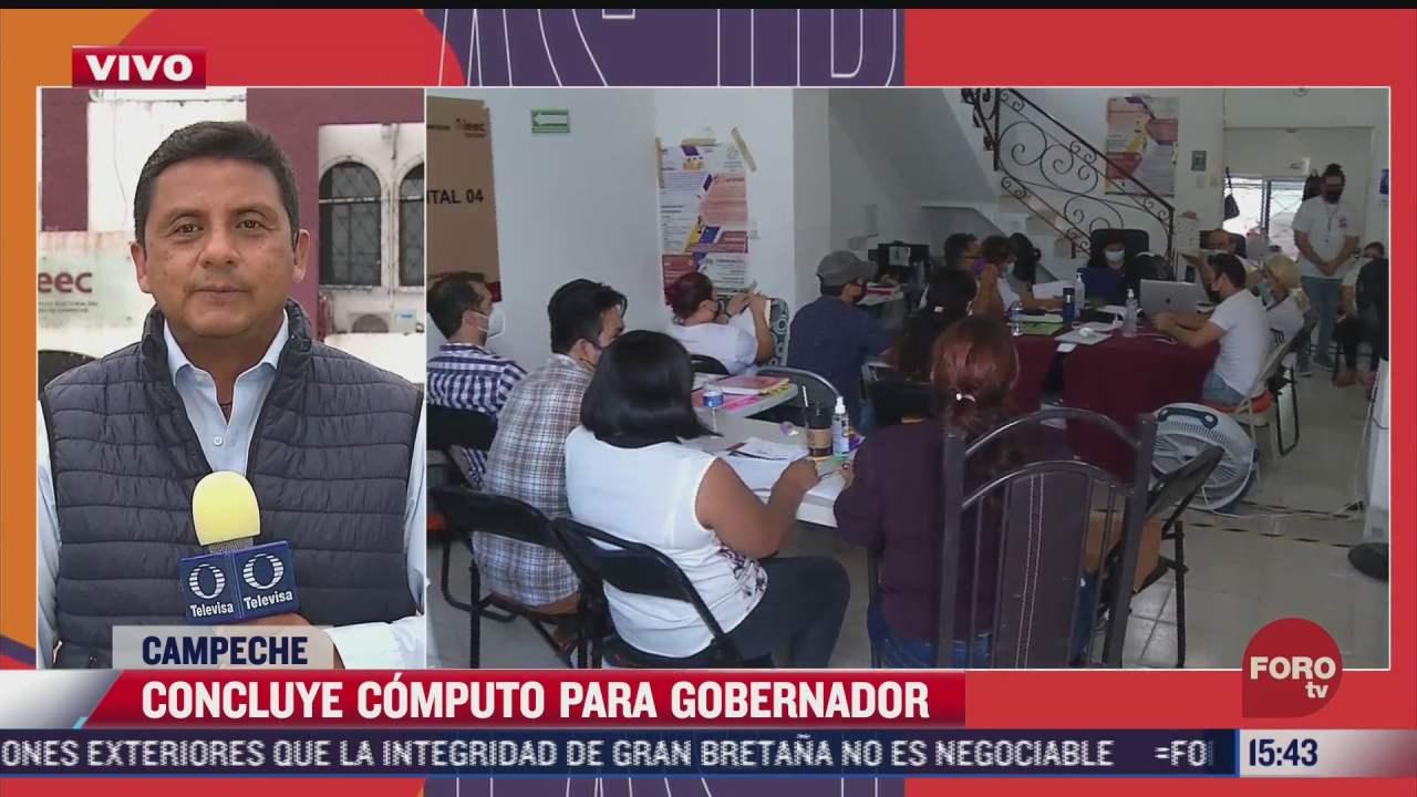 resultados oficiales de gobernador en campeche se daran a conocer el domingo