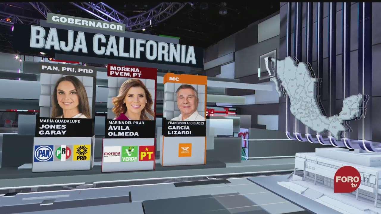 seis candidatos buscan la gubernatura en baja california
