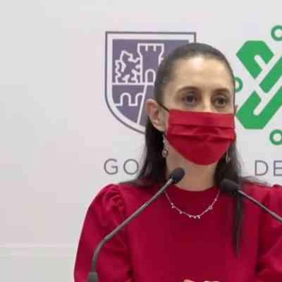 La jefa de Gobierno de la Ciudad de México, Claudia Sheinbaum, lunes 14 de junio de 2021 (Twitter: @Claudiashein)