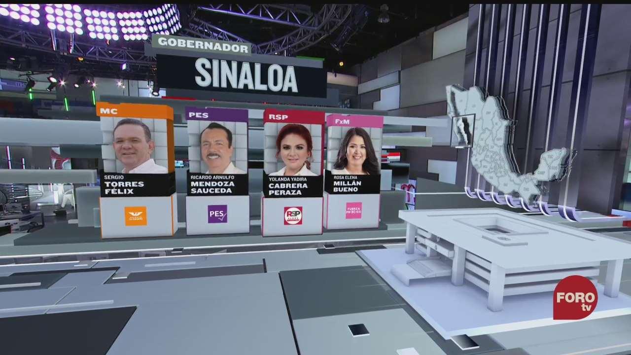 siete candidatos buscan la gubernatura en sinaloa