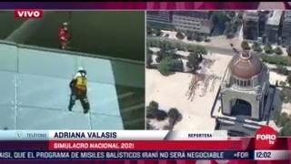 simulan rescates en edificios de avenida juarez