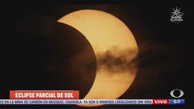 Primer eclipse anular de sol de 2021