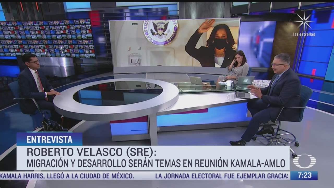 Entrevista con Roberto Velasco, director general para América del Norte de la SRE