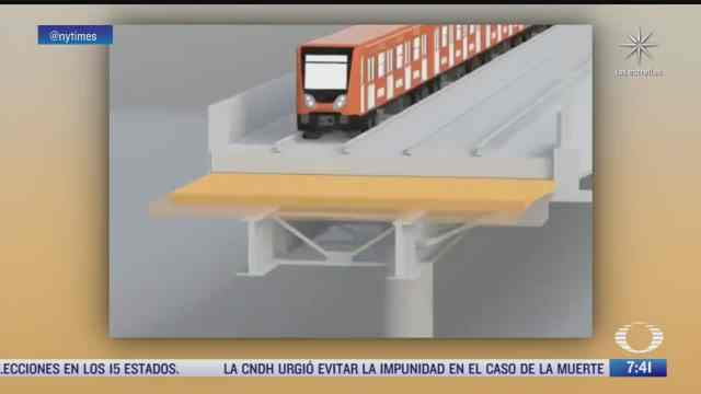 the new york times publica reportaje sobre el accidente en la l12 del metro