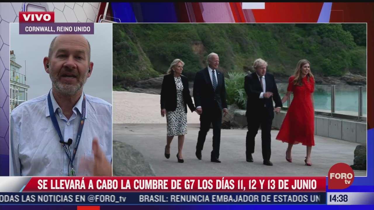 todo listo para la reunion del g7 en reino unido