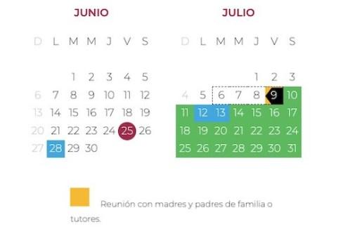 Última reunión padres de familia, ciclo escolar 2020-2021