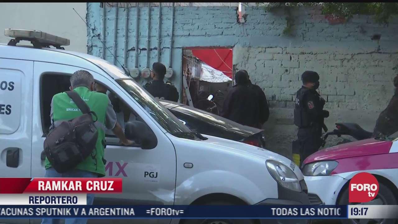 autoridades realizan operativo en domicilio de la alcaldia iztacalco