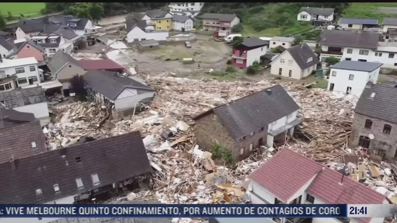 belgica y alemania viven las peores inundaciones de este siglo