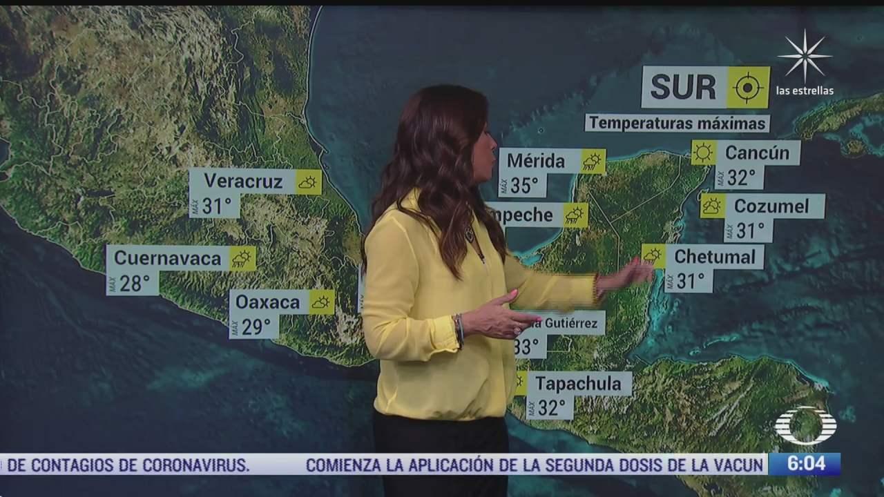 canal de baja presion provocara lluvias en noroeste y occidente de mexico