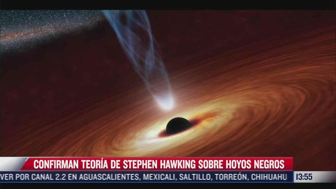 confirman teoria de stephen hawking sobre hoyos negros
